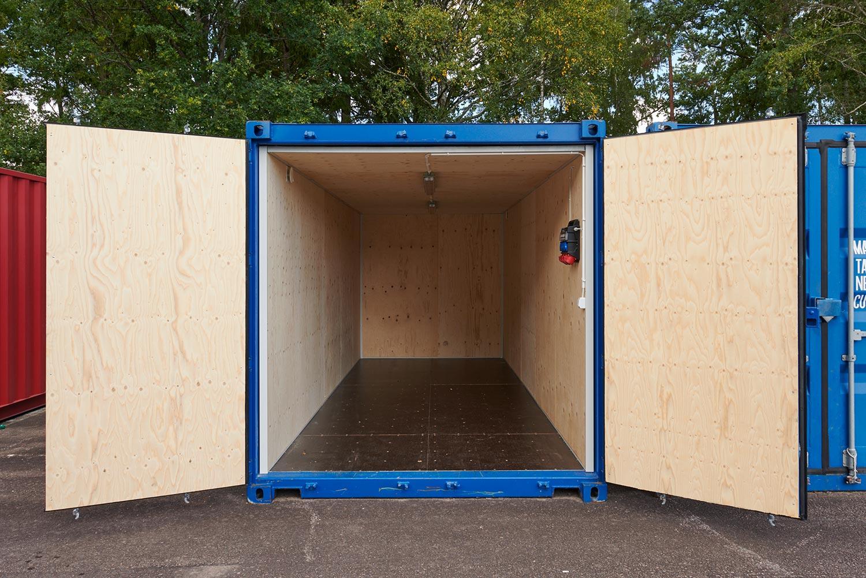 Enkel förvaringslösning med container från OTM
